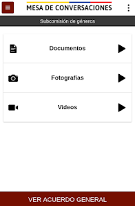 Mesa de Conversaciones screenshot 2