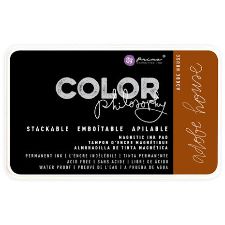 Prima Color Philosophy Permanent Ink Pad - Adobe House UTGÅENDE