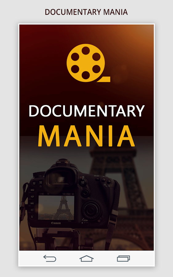 Documentary Mania- screenshot