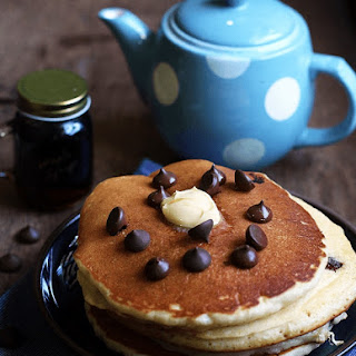 Chocolate Chip Pancakes Without Baking Powder Recipes.