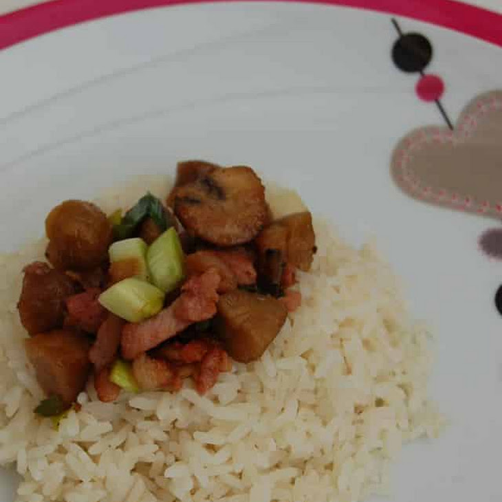 Autumn Chestnut Rice Recipe
