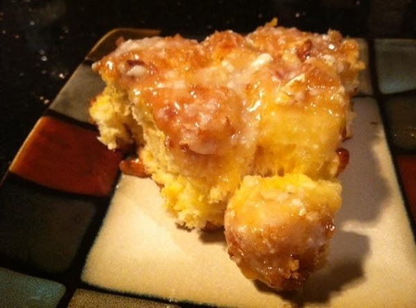 Lemon Biscuit Coffee Cake Recipe
