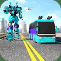 Bus Robot Car Flying Transform – New Robot Game icon