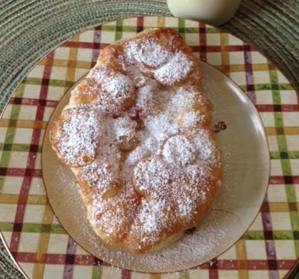 Easy Fried Dough (pizza Fritte) Recipe