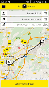 Colux Taxis Luxembourg- screenshot thumbnail