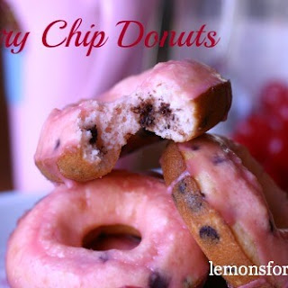 Cherry Chip Donuts