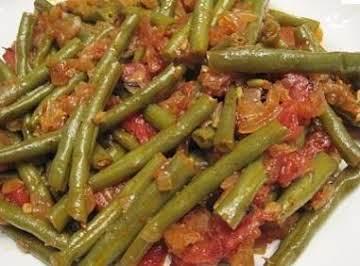 Green Bean Spaghetti