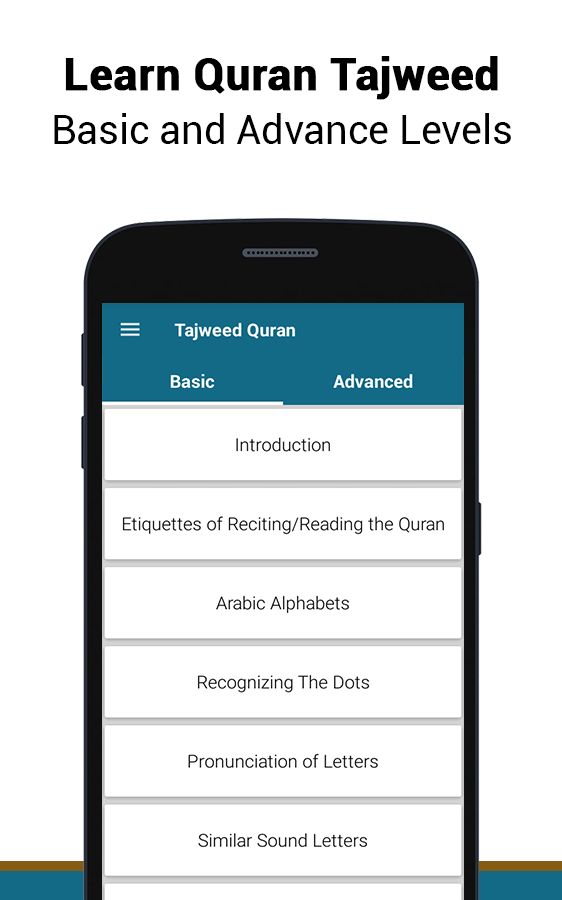 Tajweed Quran Tarteel Rules- screenshot