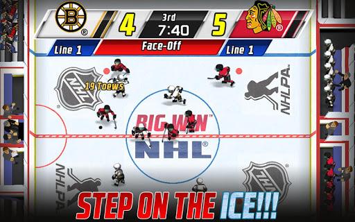 Big Win NHL Hockey screenshot 2