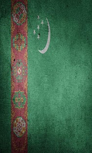 Turkmenistan Flag Wallpapers - náhled