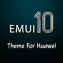 Dark Emui-10 Theme for Huawei icon