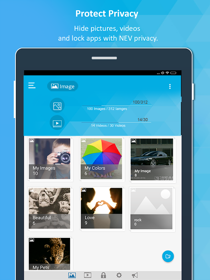 NEV Privacy - Hide Pictures- screenshot