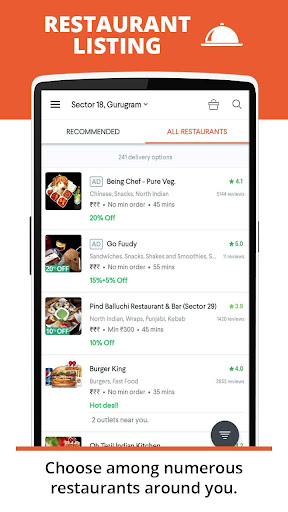 foodpanda: Food Order Delivery 2.5.2 screenshots 3