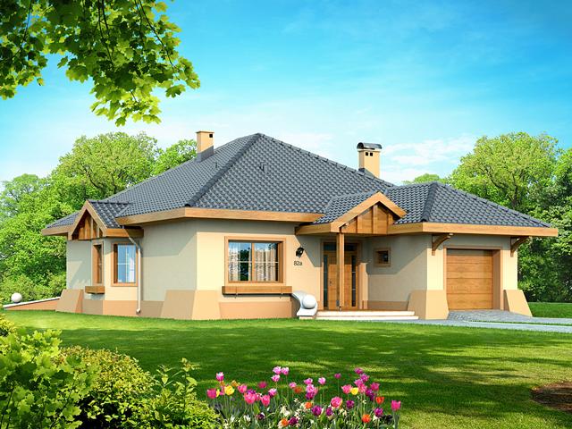 Projekt domu Verona (TNG-195) - 121.6m²
