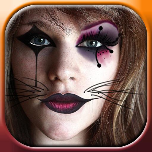 化妝遊戲 萬聖節 個人化 App LOGO-硬是要APP