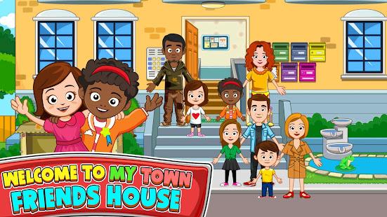 My Town : منزل الأصدقاء Mod