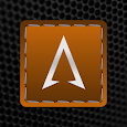 Threaded Silver Orange Icons icon