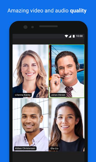 Screenshot - ZOOM Cloud Meetings