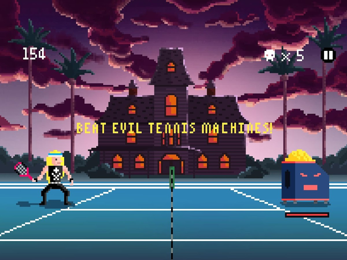 Heavy Metal Tennis Training- screenshot