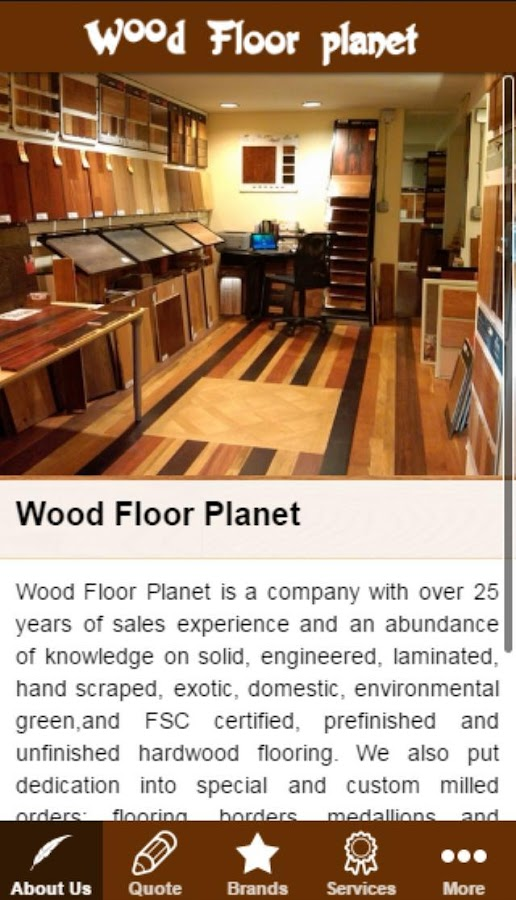 Wood Floor Planet Android Apps on Google Play