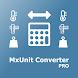 Unit converter MxUnit Pro - Androidアプリ