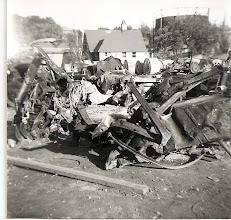 Photo: Debris from the flood. Photo courtesy of Edward Adams Jr.