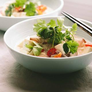 Tom Kha Tofu (Thai Coconut Soup with Tofu).