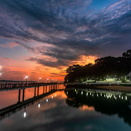 Changi Boardwalk, Singapore by Ketan Vikamsey - Buildings & Architecture Bridges & Suspended Structures ( pic of the day, natgeoyourshot, nisifilters, singapore tourism, natgeohd, long exposure, fotorbit, great nature, natgeo, instaasia, photo of the day, bbctravels, ketan vikamsey, myholidaymyclick, canon5dmarkiv, canonusa, wonderful places, lonelyplanet, lonelyplanetmagazineindia, fishing, worldphotographicforum, changi boardwalk, canonphotography, striking singapore, kv kliks, natgeotravel, visit singapore, travel the world pix )