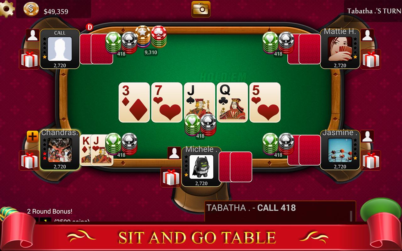free poker live