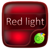 Red Light GO Keyboard Theme