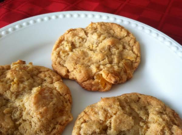 Chewy Apricot Cardamom Cookies