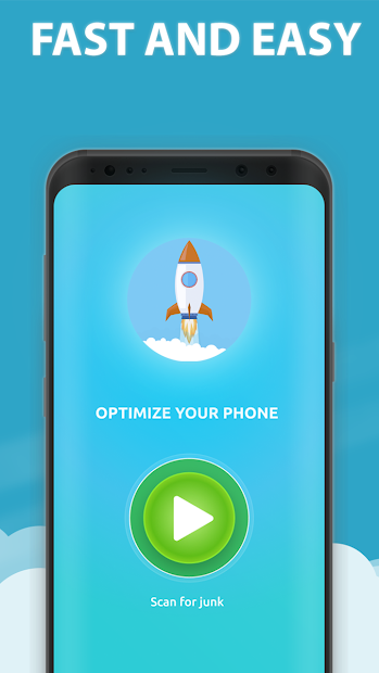 FreeUp Cleaner Android App Screenshot