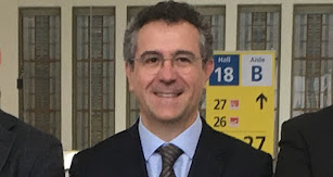 Eduardo Baamonde, presidente de Cajamar, en Fruit Logistica.