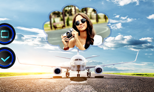 無料摄影Appの旅行フォトフレーム|記事Game