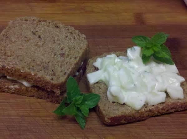 Cucumber Mint Tea Sandwich Filling Recipe