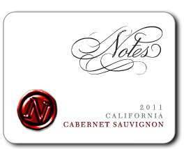Logo for Notes Cabernet Sauvignon