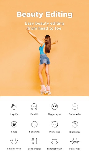 Candy Camera - selfie, beauty camera, photo editor 4.52 screenshots 5