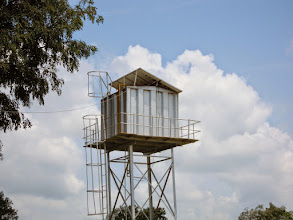 Photo: Visit to Hope Eden Village 2014 PV water pumps!