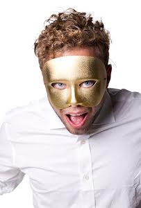 Ögonmask, casanova guld