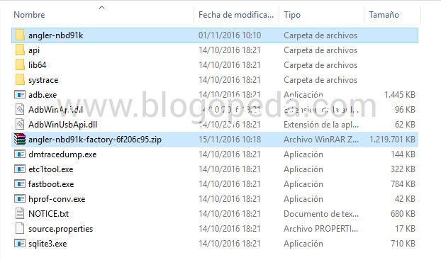Actualización NBD91K