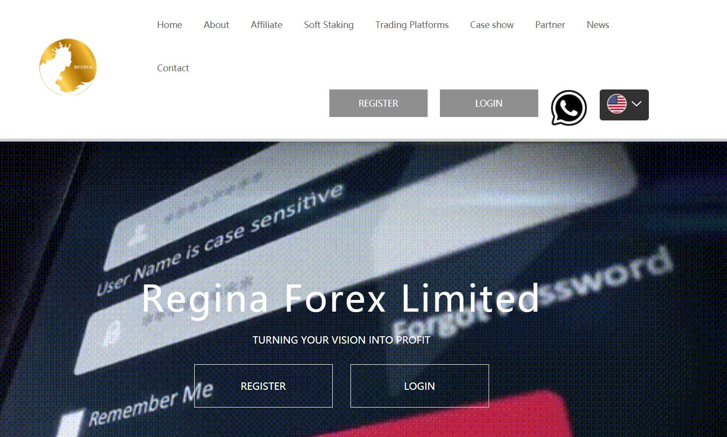 Отзывы о Regina Forex, основная информация о проекте реальные отзывы