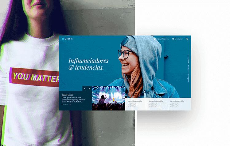 Grupoboom diseño y desarrollo web Tienda online