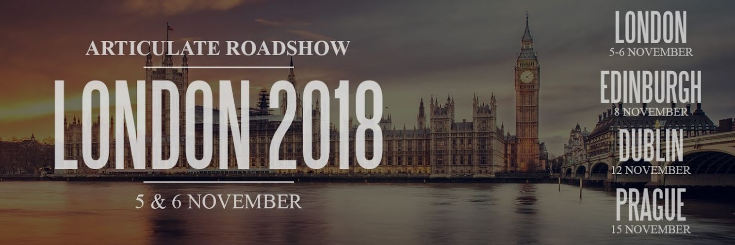 Articulate Roadshow: London