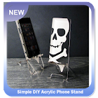 Simple DIY Acrylic Phone Stand icon