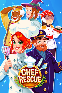 Chef Rescue - Management Game- screenshot thumbnail