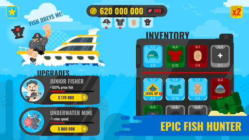 Epic Fish Master - fishing game 1.0.4 screenshots 2