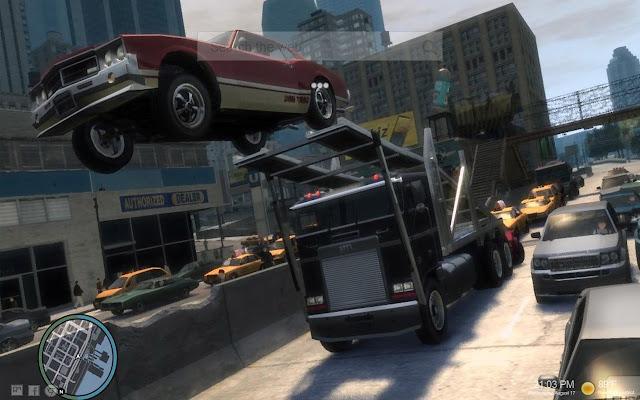 GTA - Grand Theft Auto New Tab Themes
