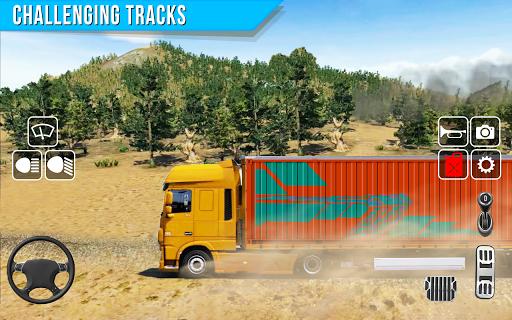 Offroad truck driver 4X4 cargo truck Drive 3D apkmr screenshots 9