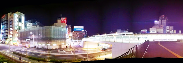 Photo: Newly renovated Nakano train station (north exit).