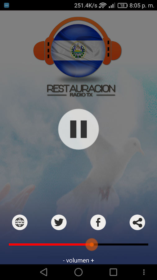 RESTAURACIÓN RADIO TX- screenshot